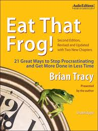 Eat That Frog! 21 Ways to Stop Procrastinating & Get More Done in Less Time by Brian Tracy. Day 6 of 31 Days of Great Nonfiction Books/Great Nonfiction Reads