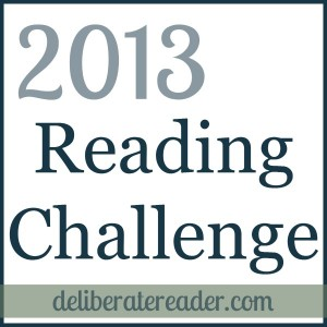 2013 Reading Challenge Progress