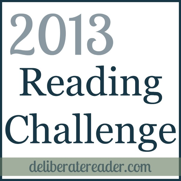 Grab button for 2013 Reading Challenge by The Deliberate Reader