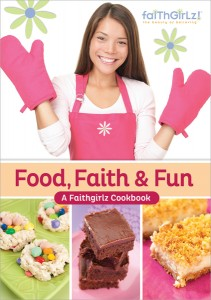 Book Review of Juvenile Nonfiction Book Food, Faith & Fun: A Faithgirlz Cookbook.