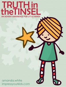 Christmas Ebook Truth in the Tinsel: An Advent Experience for Little Hands
