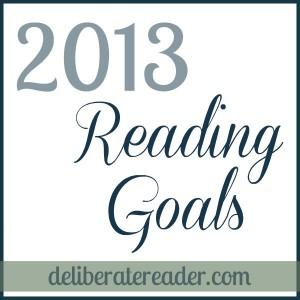 2013 Reading Goals
