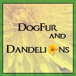 DogFur and Dandelions button