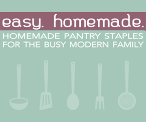 Planning for 2013: Meal-Time Help: Easy Homemade
