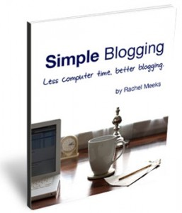 Planning for 2013: Starting/Improving a Blog: Simple Blogging