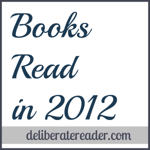 Books Read in 2012