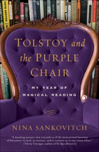 Emotional Reading / Reading through Grief and Grieving: Tolstoy and the Purple Chair: My Year of Magical Reading