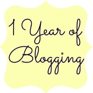 First Blog Birthday
