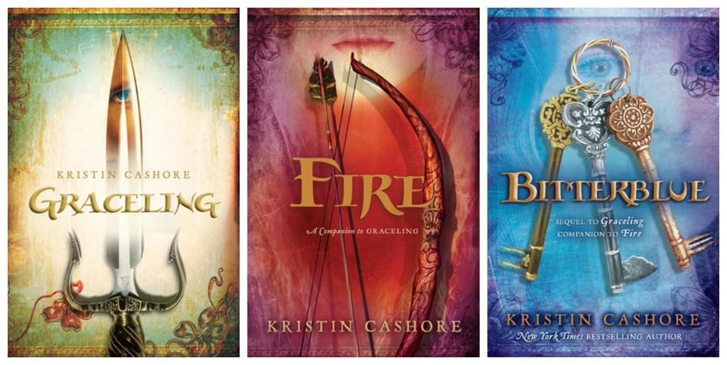 Graceling Realm series - Graceling, Fire, Bitterblue