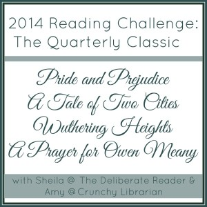 2014 Reading Challenge The Quarterly Classic
