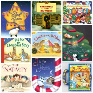 Christmas and Advent Books Collage