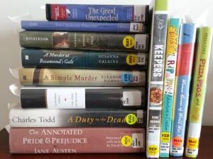 library haul 13