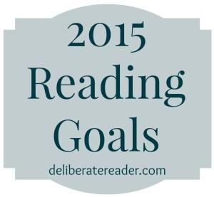 2015 Reading Goals