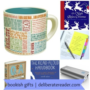 Bookish Gifts 2014 with banner