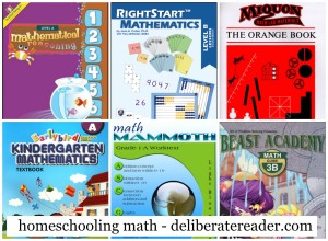 Homeschooling Math Current Programs and Ideas for Later