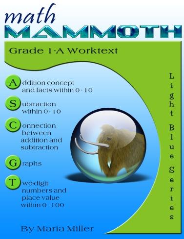 Math Mammoth 1A