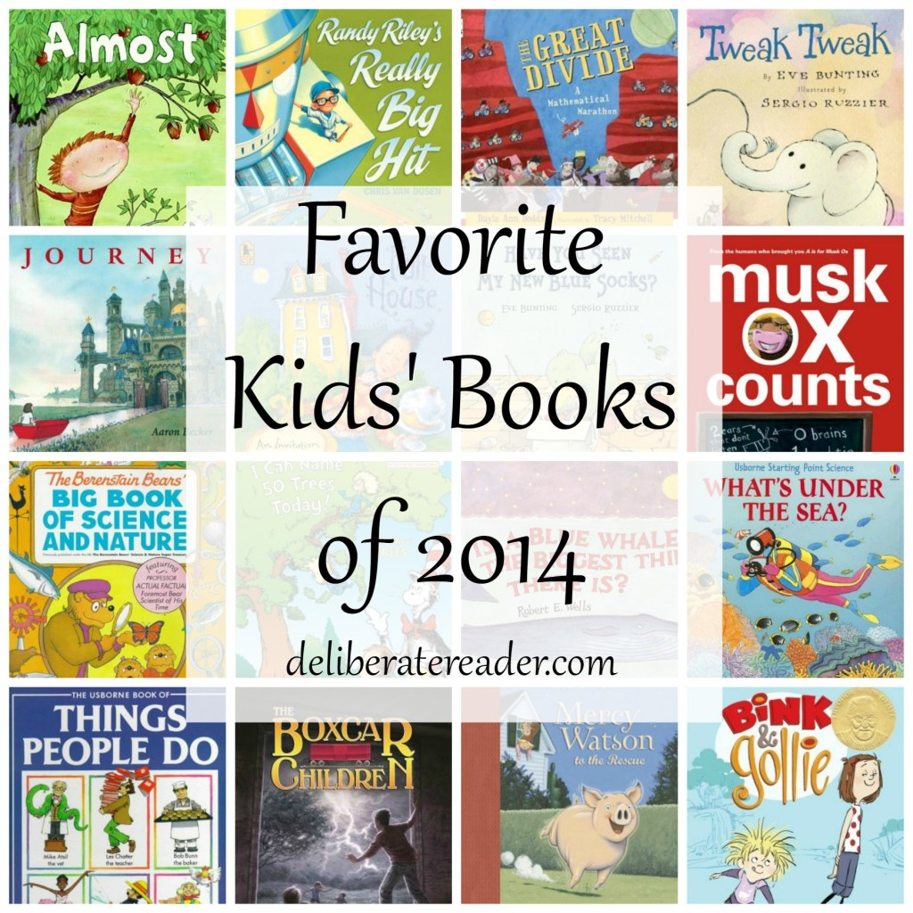 Favorite Kids' Books of 2014