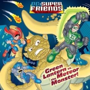 Green Lantern vs. the Meteor Monster