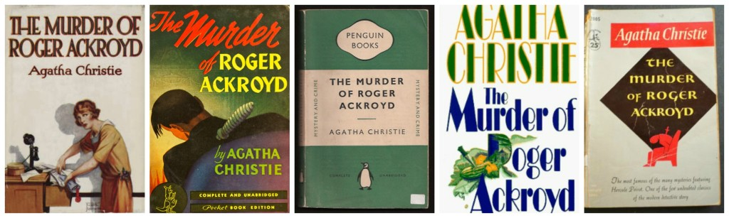 The Murder of Roger Ackroyd Covers 1