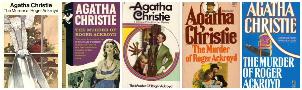 The Murder of Roger Ackroyd Covers 2