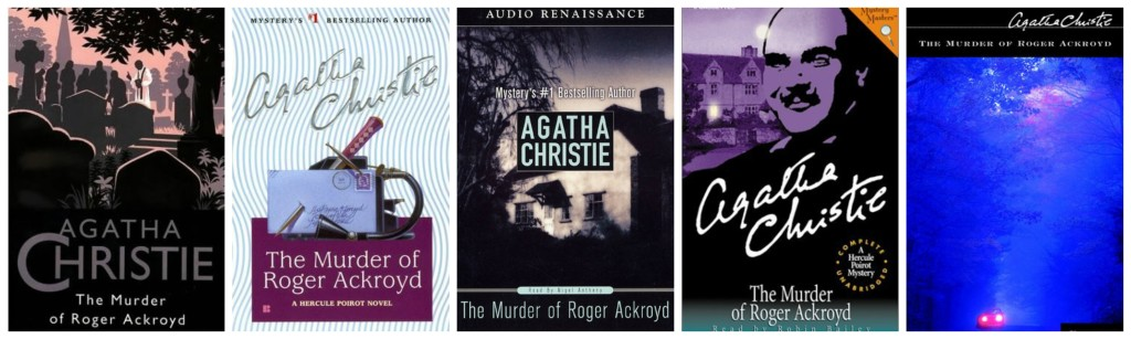 The Murder of Roger Ackroyd Covers 3