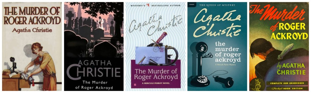 The Murder of Roger Ackroyd Cover Favorites