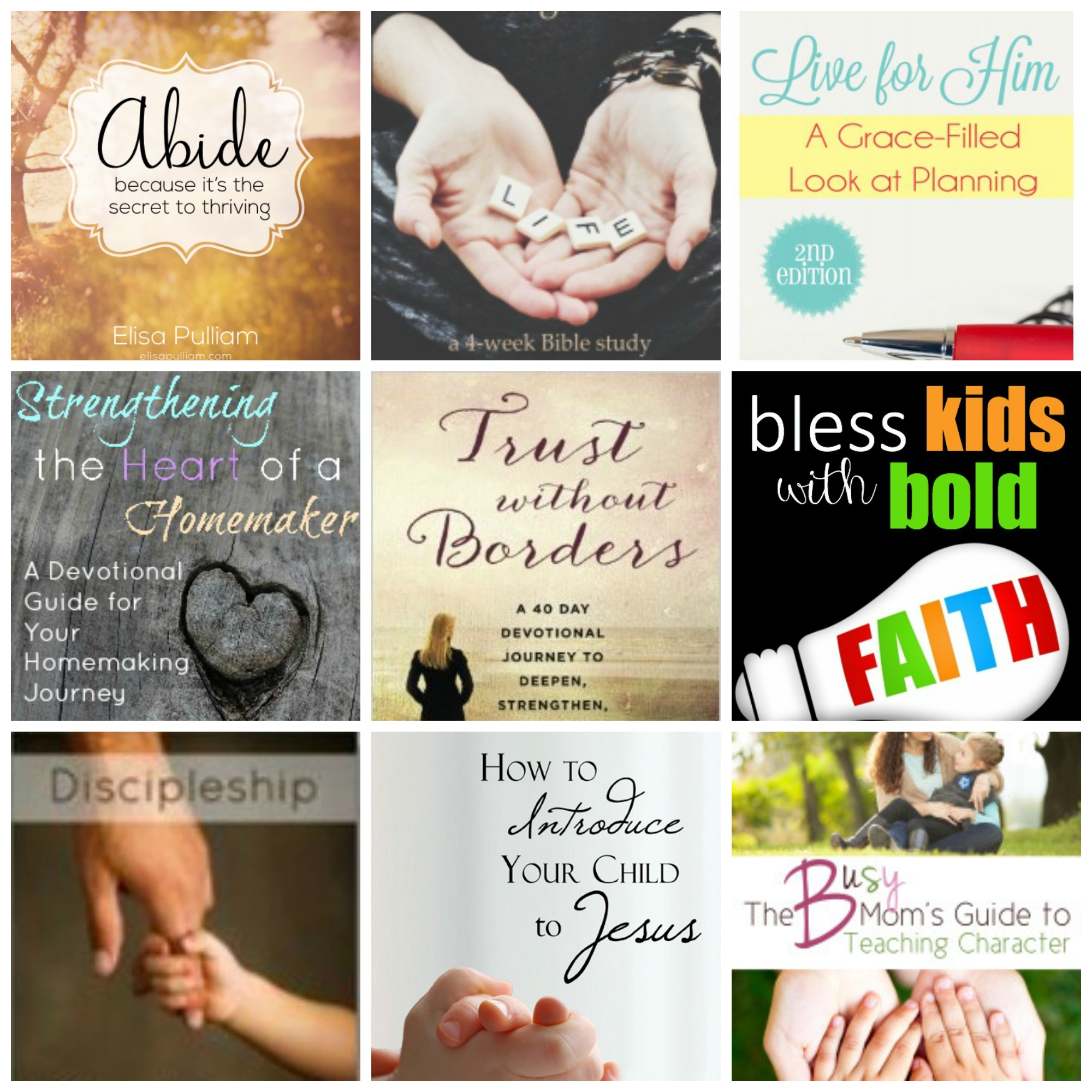 Books to Strengthen My Faith and Teach My Children about Jesus