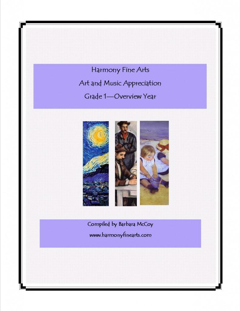 Harmony Fine Arts Grade 1