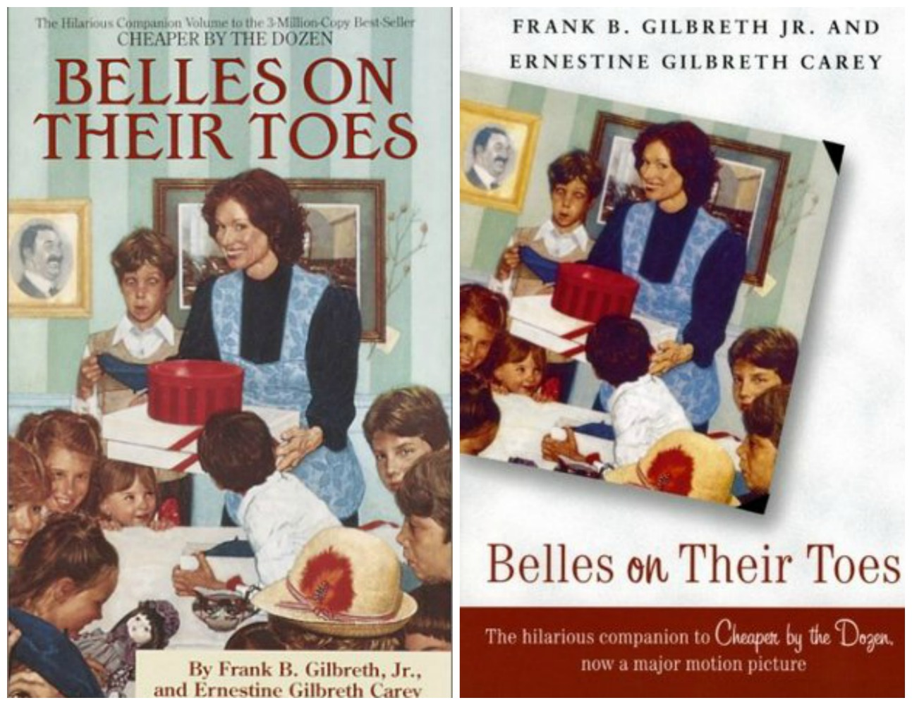 Belles on Their Toes Collage