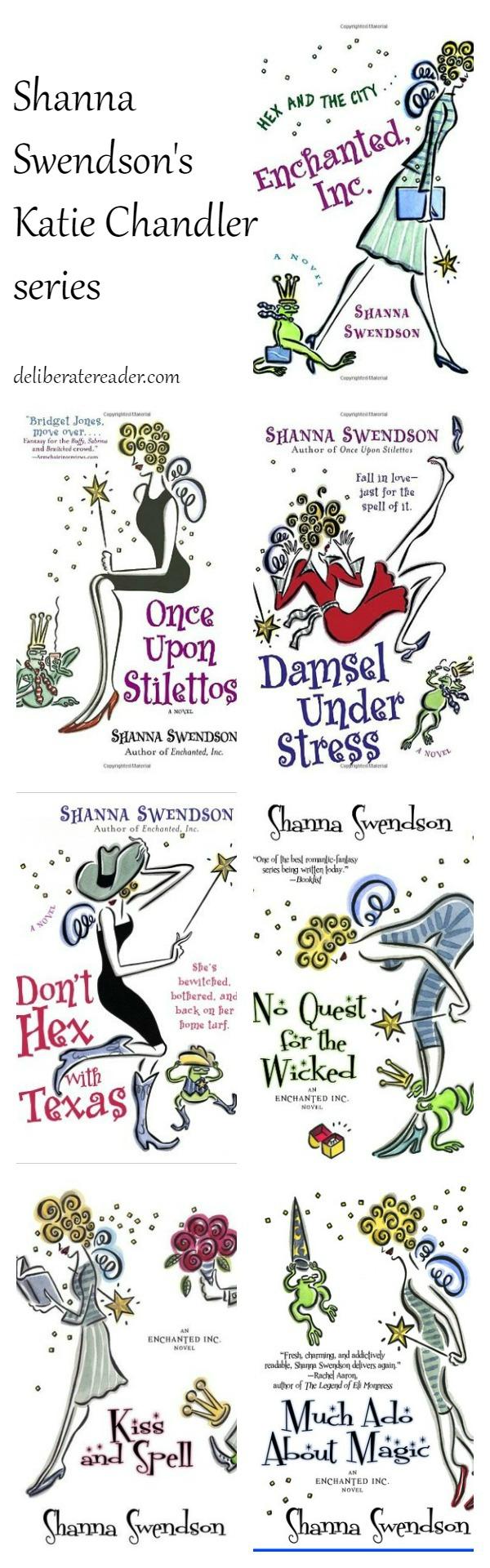 Shanna Swendson's Katie Chandler series