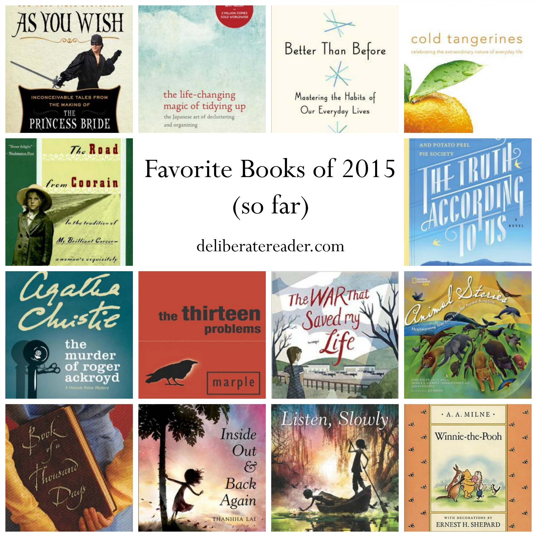 Favorite Books of 2015 so far