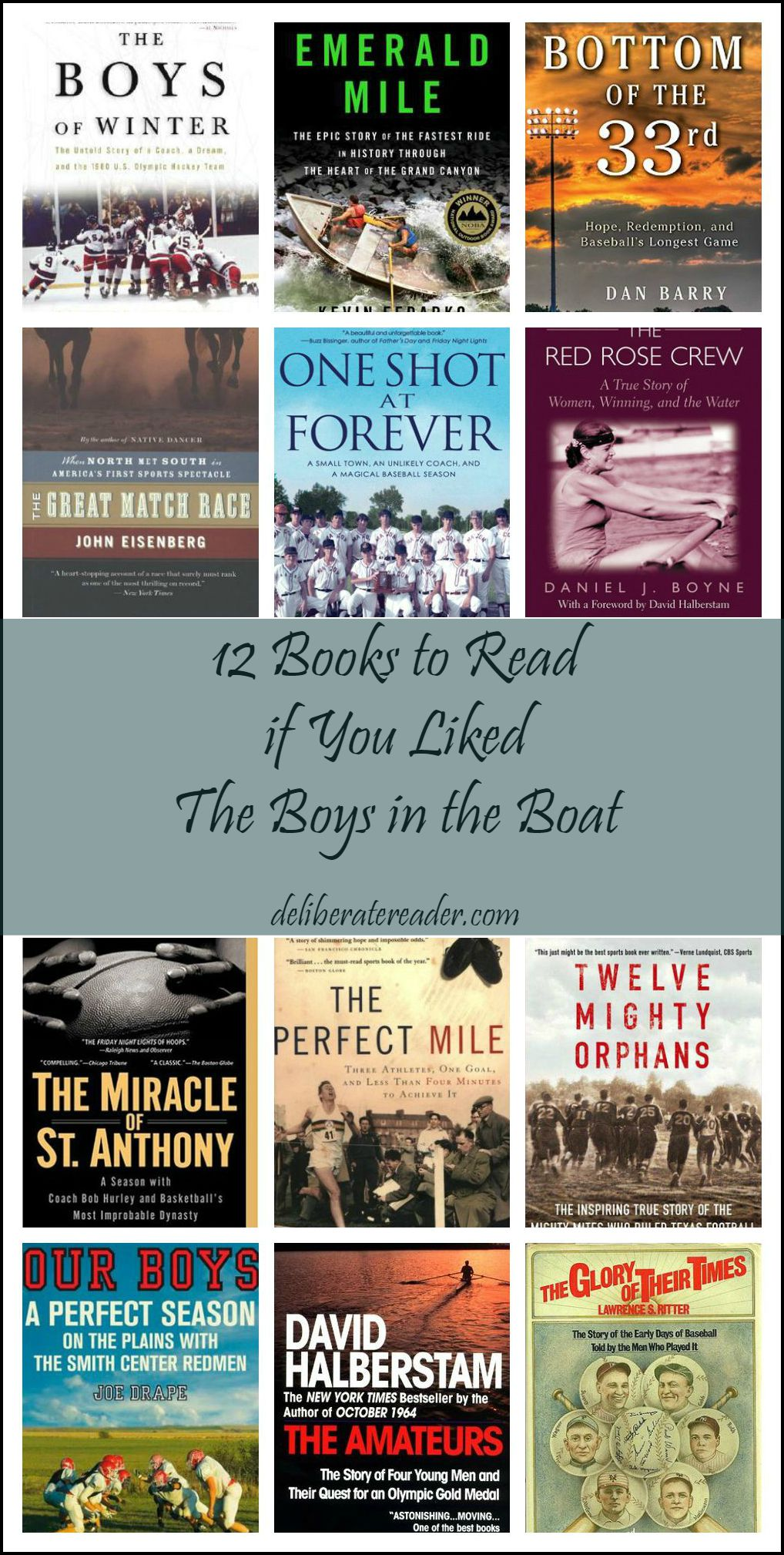 12 Sports Books to Read if You Liked The Boys in the Boat