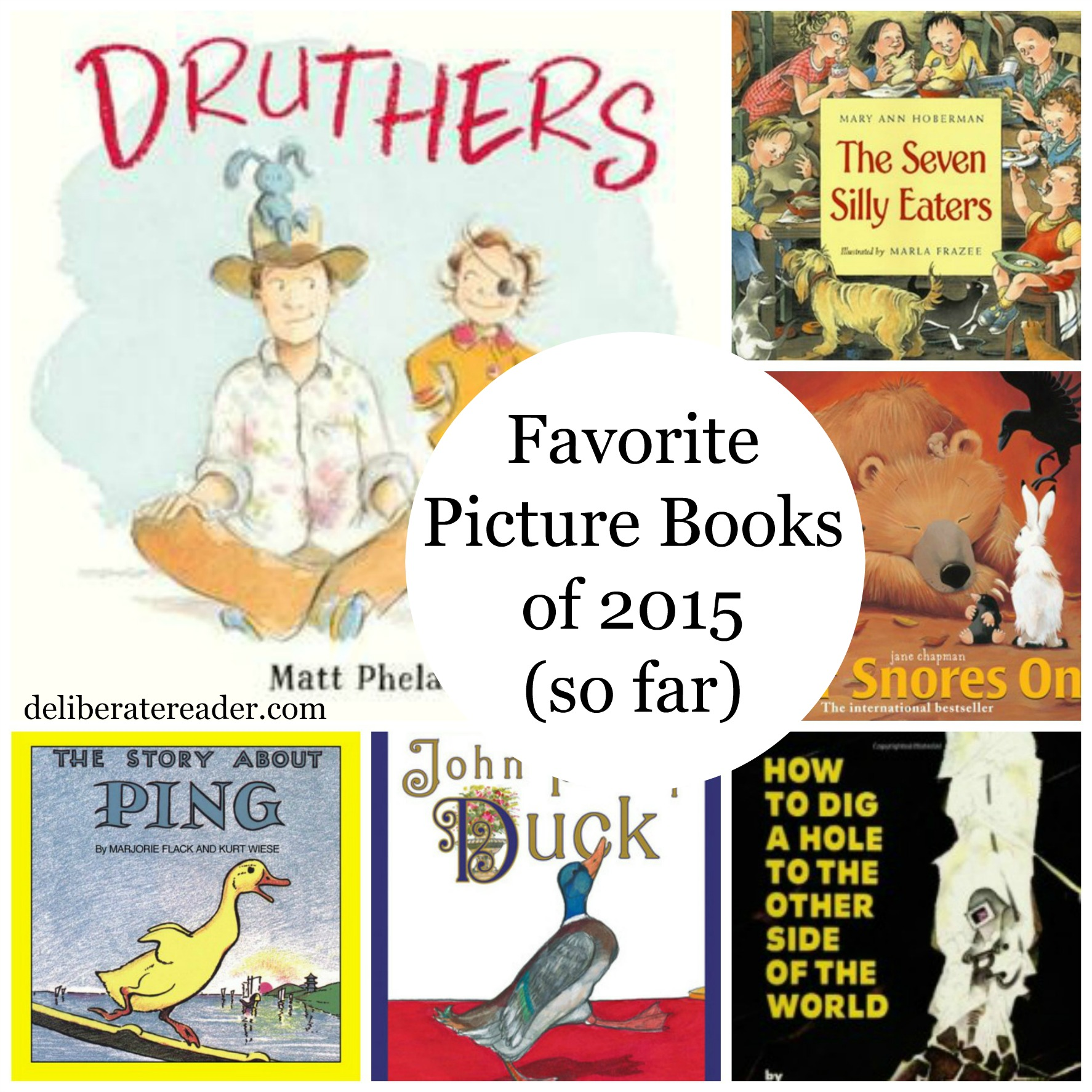 Favorite Picture Books so far in 2015