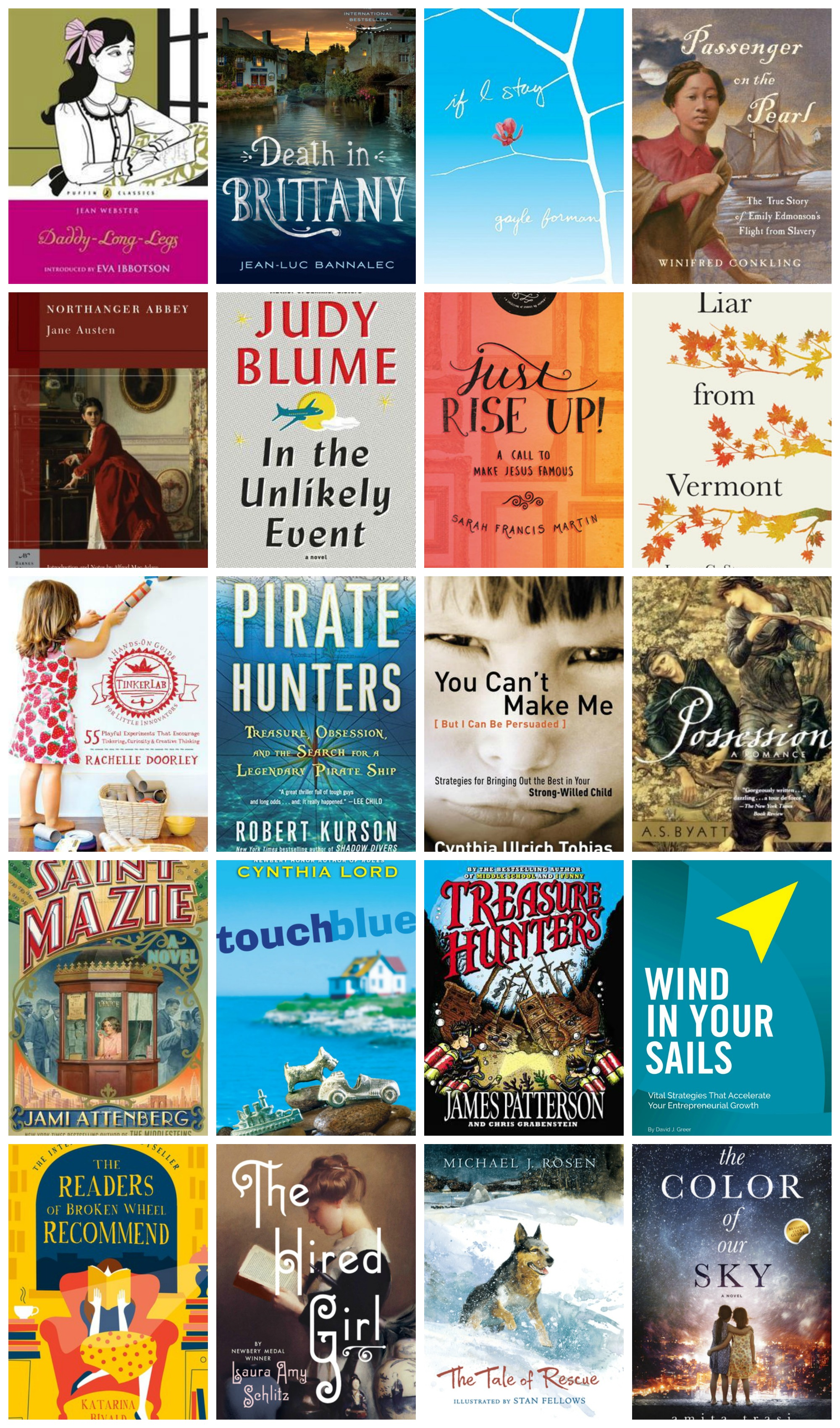 June 2015 New on the Stack - Linking up with The Deliberate Reader to share what books are #newonthestack in June 2015
