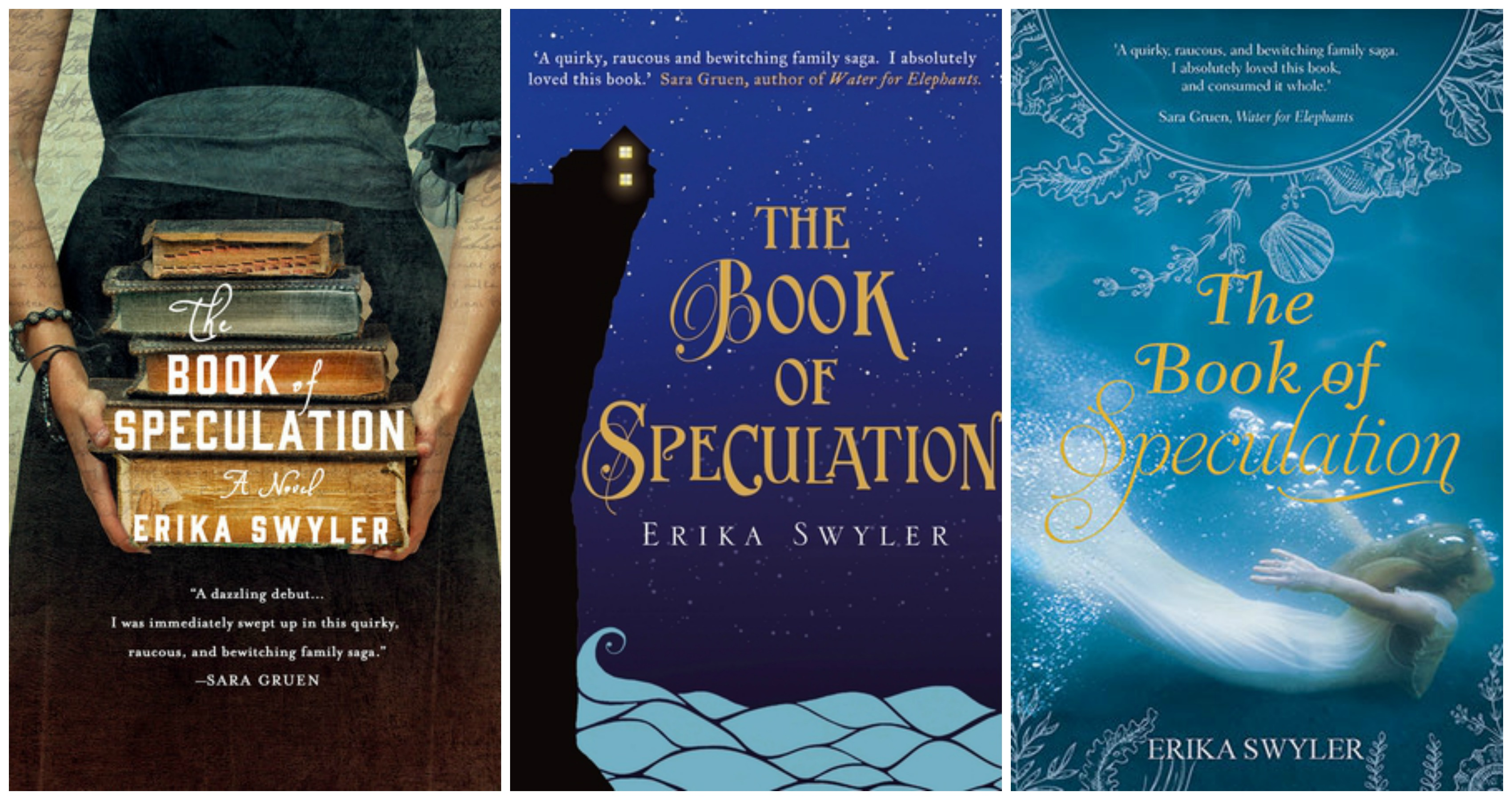 The Book of Speculation Covers