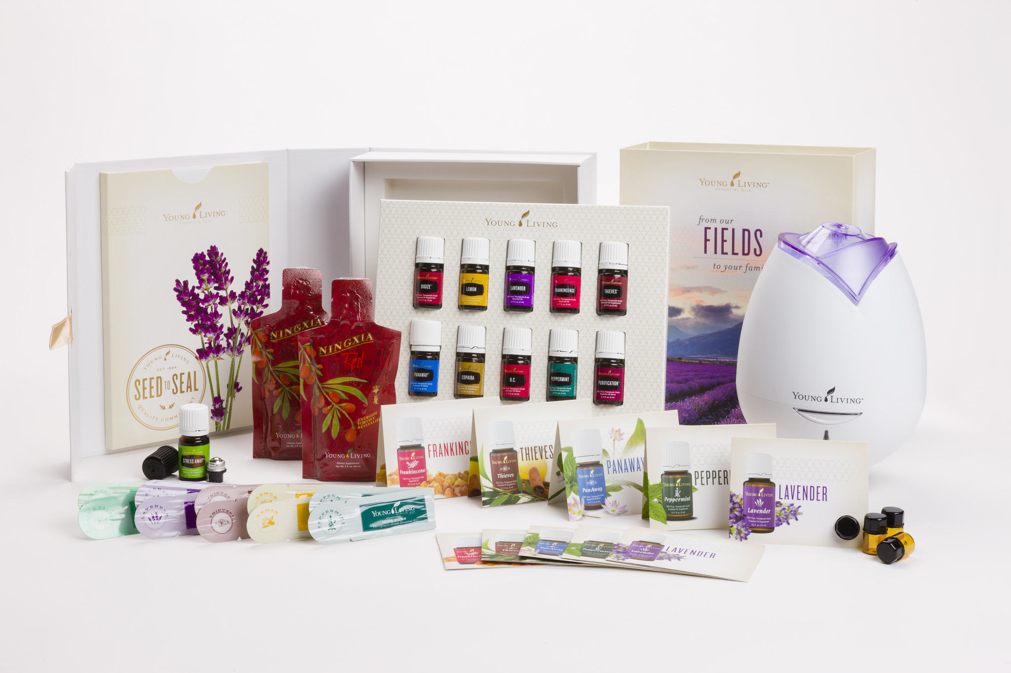 The Deliberate Reader - Young Living Premium Starter Kit 2015
