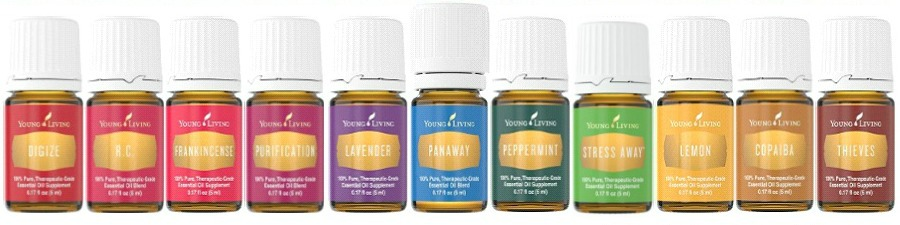 Young Living 2015 Premium Starter Kit Oils