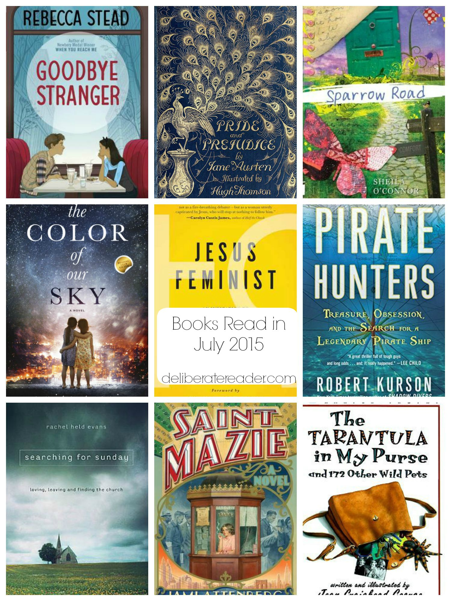Books Read in July 2015