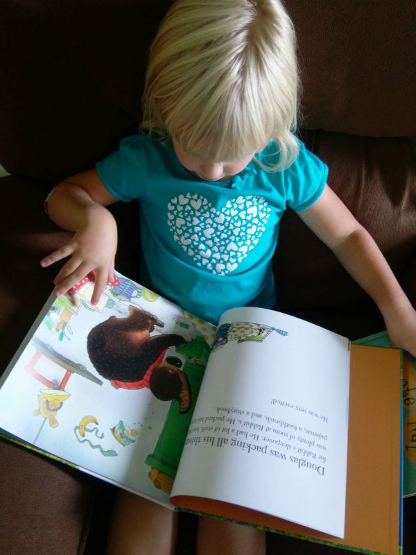 H reading Hugless Douglas