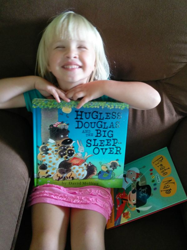 H with Hugless Douglas and the Big Sleep-Over 2