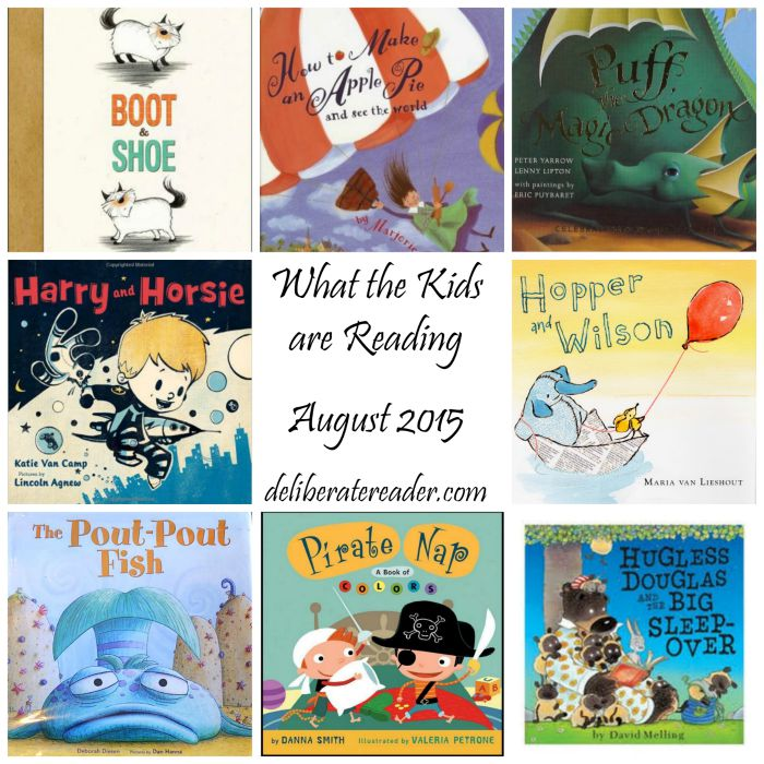 What the Kids are Reading August 2015