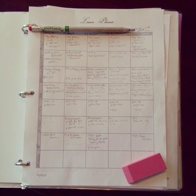 homeschooling record keeping