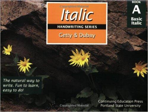 Getty Dubay Italic Handwriting A