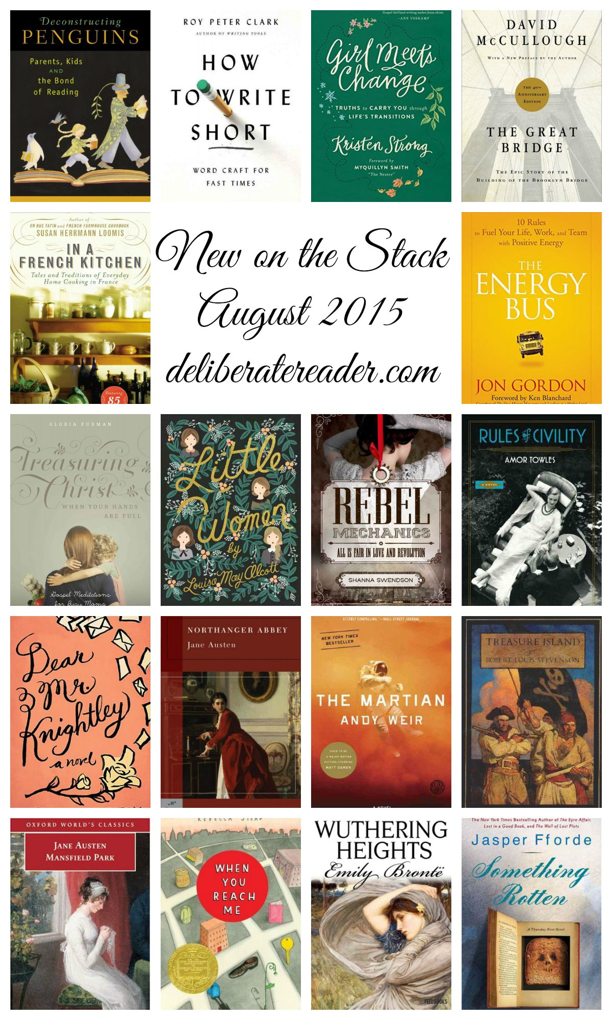 New on the Stack in August 2015