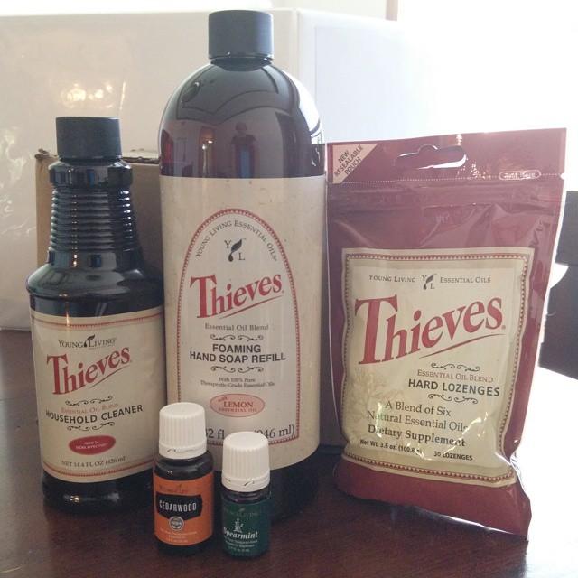 September Young Living Essential Oils Essential Rewards Order