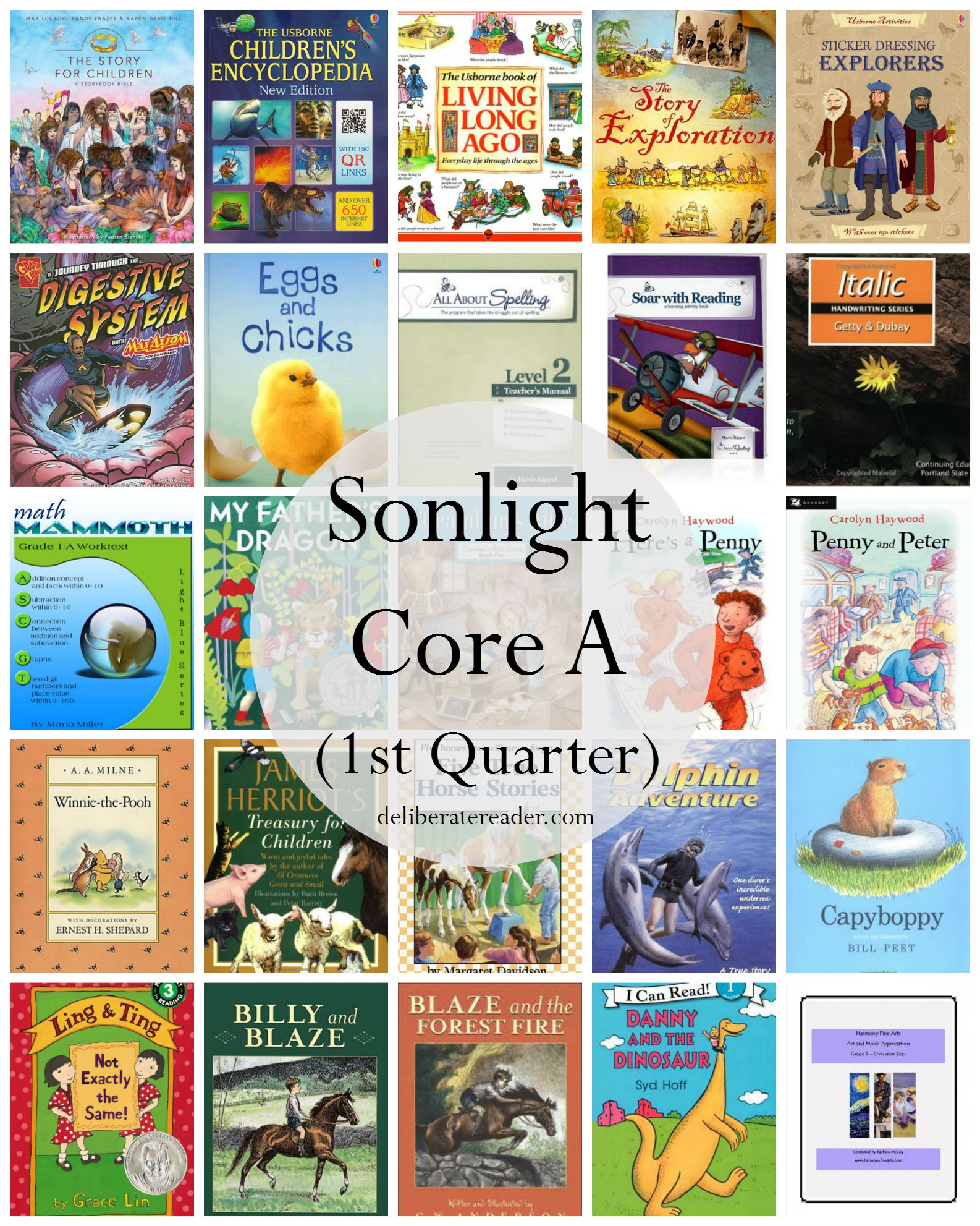 Sonlight Core A 1st Quarter Completed