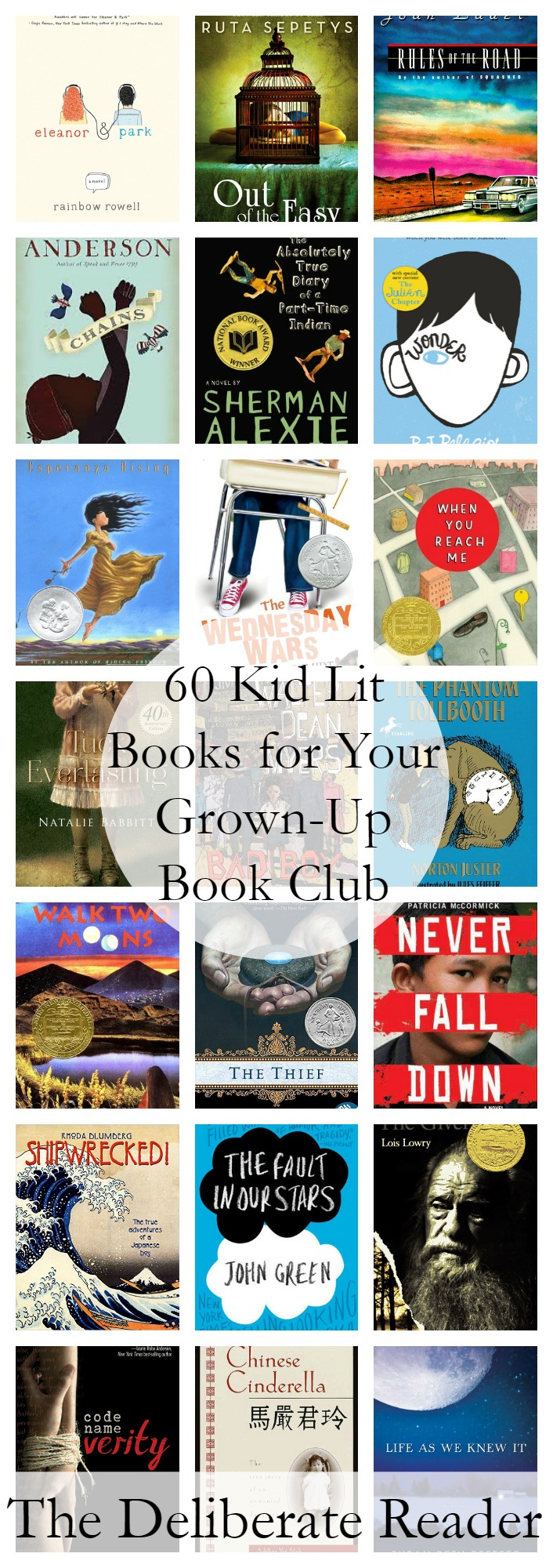 Booked {Reading Together} | 60 Kid Lit Books for Your Grown-Up Book Club