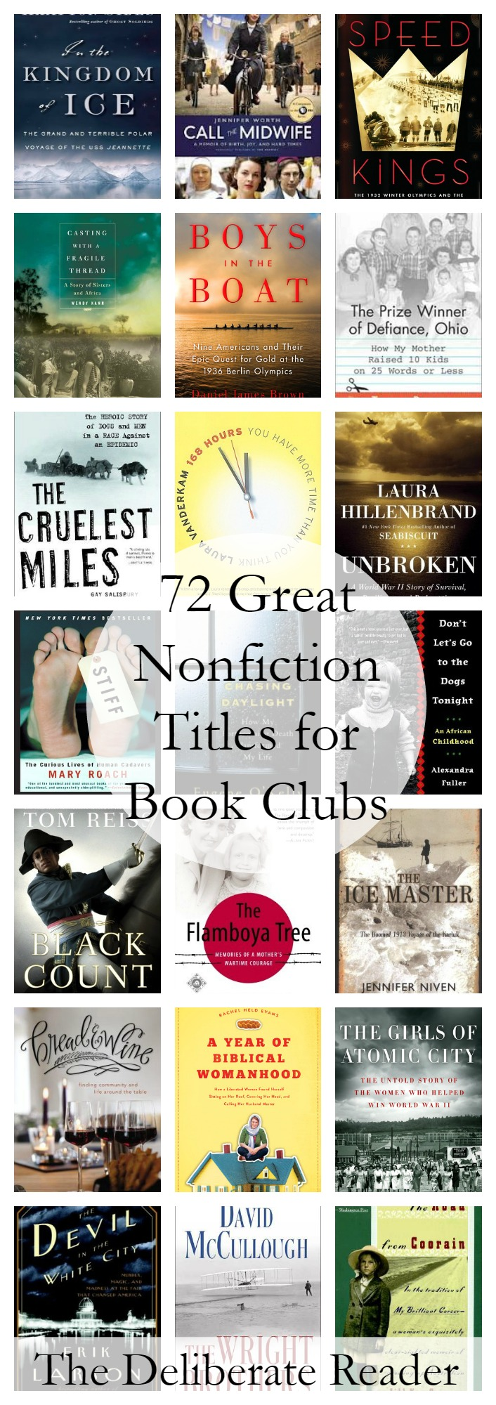 Booked {Reading Together} |72 Great Nonfiction Titles for Book Clubs