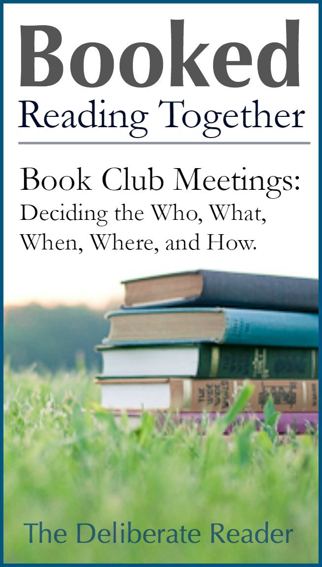 Booked {Reading Together} | Book Club Meetings: Figuring Out Logistics