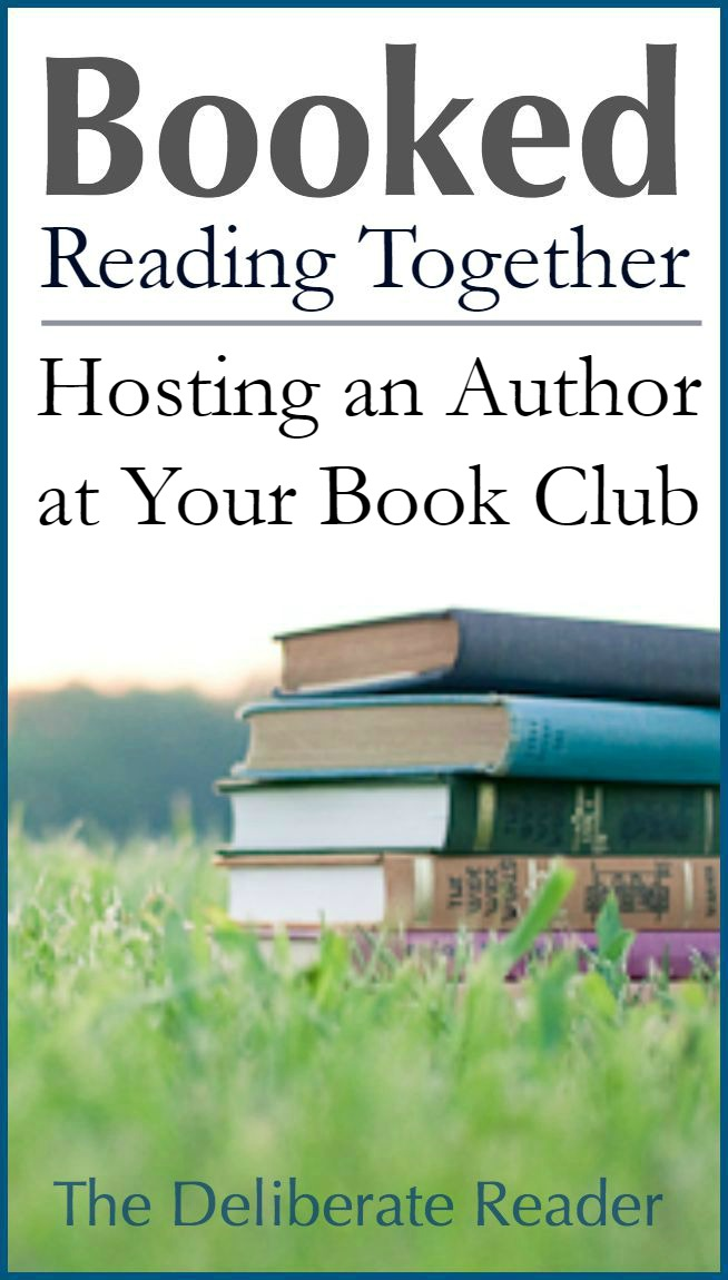 Booked {Reading Together} |  Hosting an Author